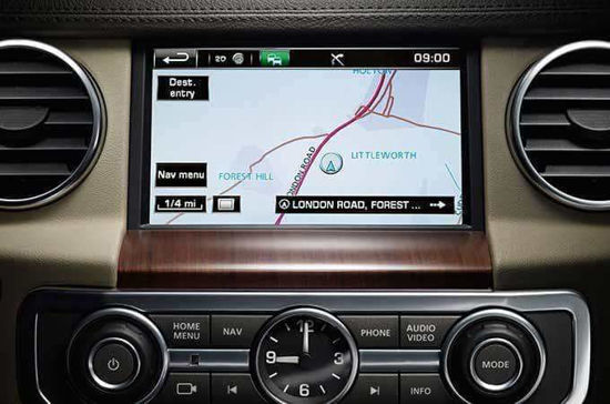 Picture of Land Rover InControl Touch Plus (Gen2.1) Navigation Map Update Package - T1000-27163